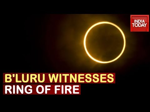 Bengaluru Queues Up At Planetarium To Get Close View Of Spectacular Solar Eclipse | Watch Full