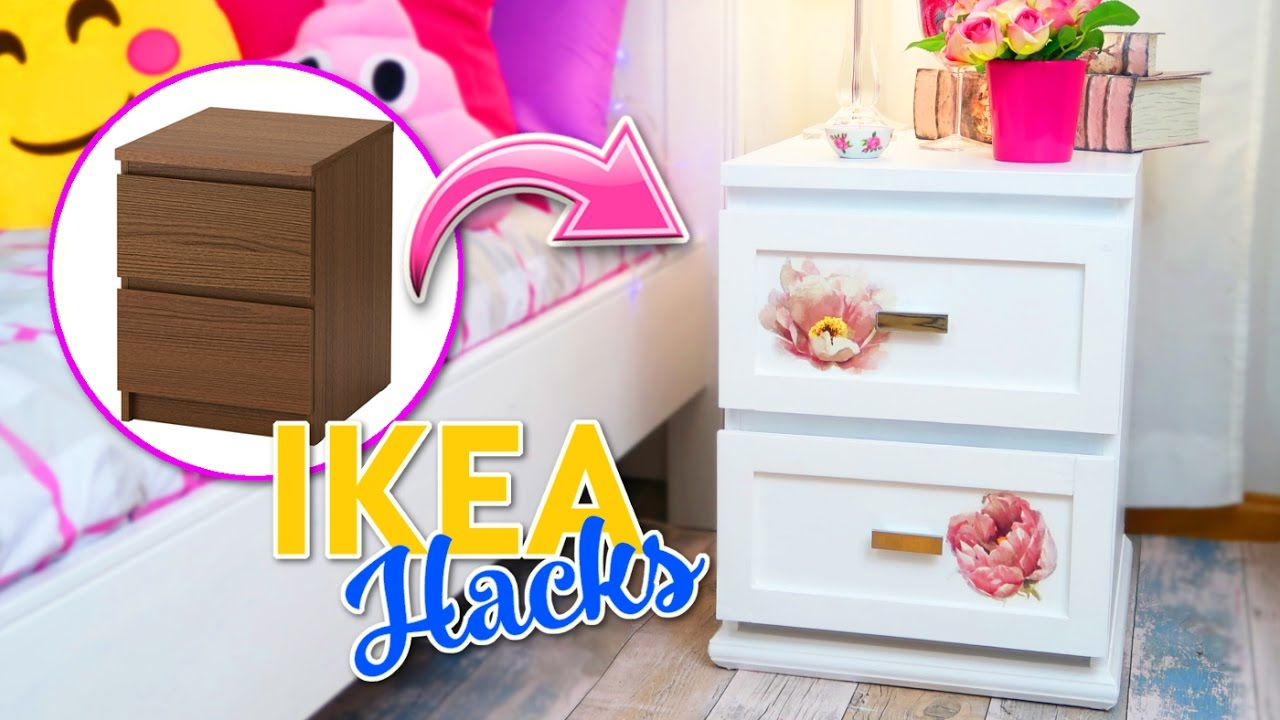 Ikea Hacks Transformacion De Comoda Malm Ikea Room Decor Ideas Decora Tu Cuarto Con Poco Dinero