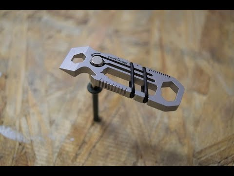 EverRatchet Ratcheting Keychain Multi-Tool | Inverse Shop