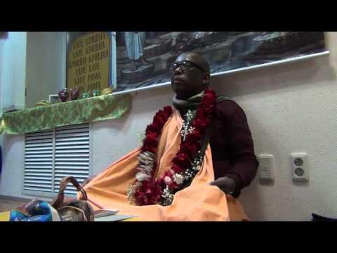 Шримад Бхагаватам 2.1.3 - Бхакти Нарасимха Свами