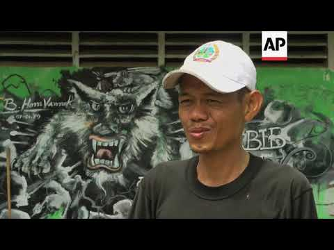 Backstreet tour of Phnom Penh's flourishing urban art scene