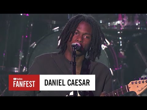 Daniel Caesar @ #YouTubeBlack FanFest Washington DC 2017