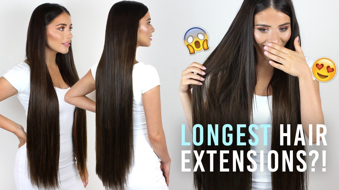 Longest Hair Extensions in the World?! |