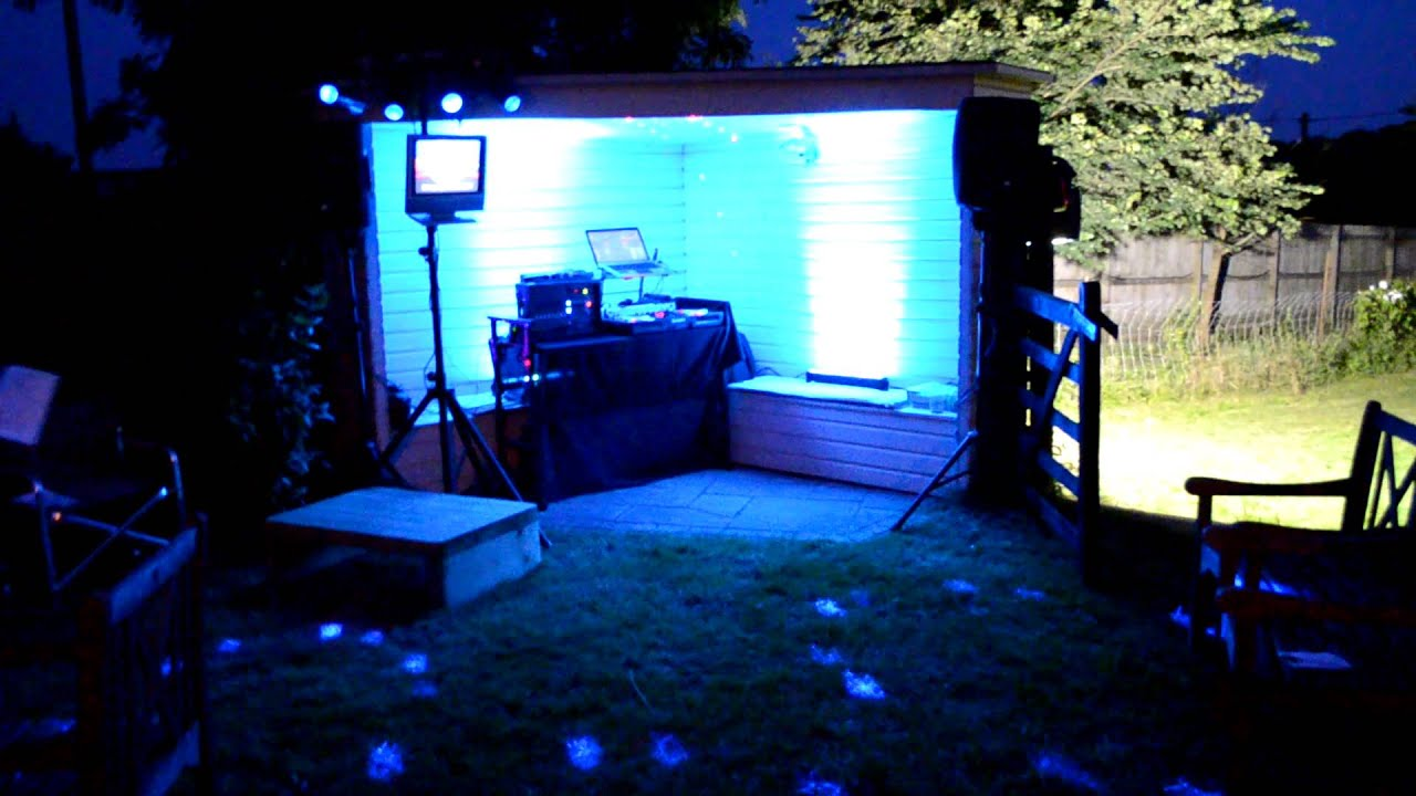 Karaoke Garden Party Setup Youtube
