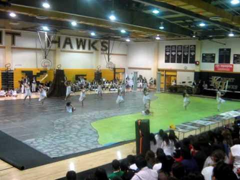 2010 Pete Knight High School Winter Guard show