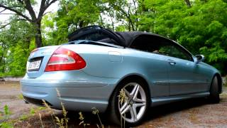 мерседес кабрио тест драйв Mercedes Benz CLK W209