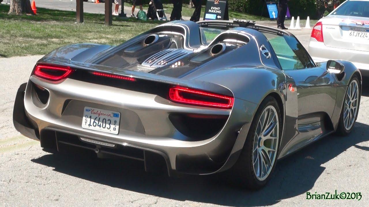 Porsche 918 Spyder  YouTube
