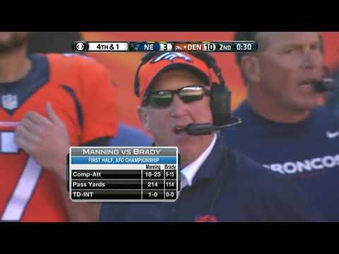 Patriots vs Broncos 2013 AFC Championship