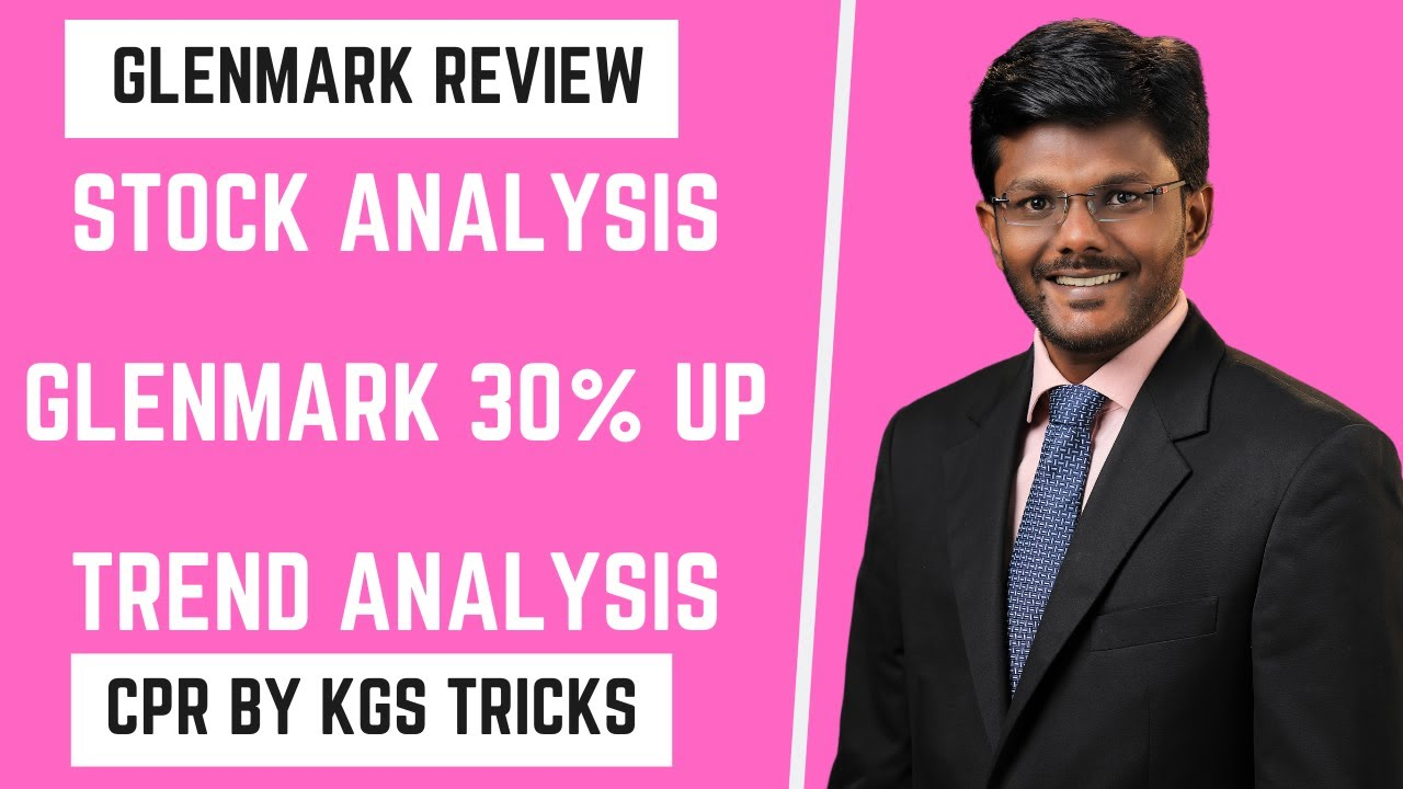 Stock Analysis | Glenmark Pharma 30% UP Bullish | Trend Analysis by KGS