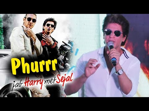 Shahrukh Khan REACTION On Phurrr Song With DJ Diplo - Jab Harry Met Sejal