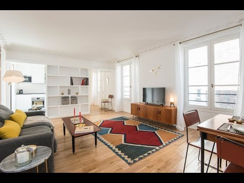 (Ref: 03023) 1-Bedroom furnished apartment for rent on rue du Perche (Paris 3rd)