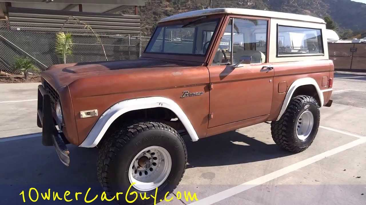 77 ford bronco 4x4 suv classic vs blazer scout ii last year model 302 video walkaround youtube. Black Bedroom Furniture Sets. Home Design Ideas