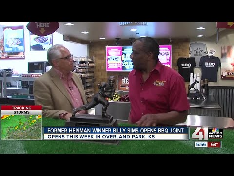 Former Heisman winner Billy Sims opens barbecue joint
