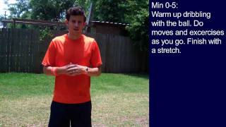 Drills in Soccer - 30 Minute Soccer Training Session #4  - Online Soccer Academy