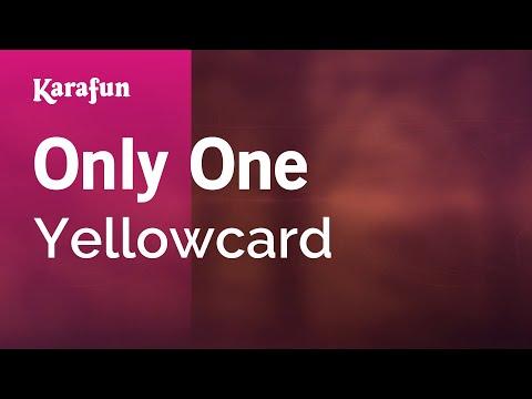 Karaoke Only One - Yellowcard *