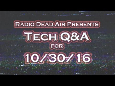 Tech Q&A - Twitter Withers on the Vine - 10/30/16