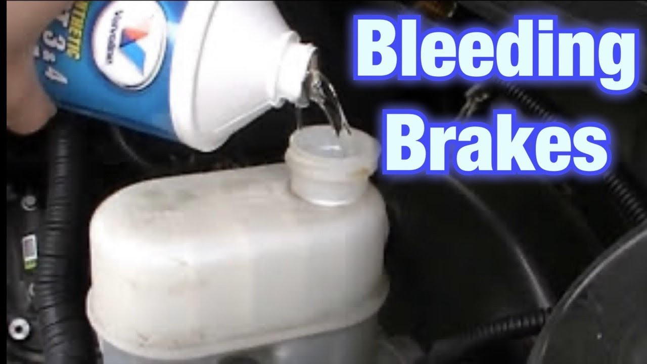 how to bleed your brakes chevy silverado sierra flushing the brake system with new fluid very easy youtube [ 1280 x 720 Pixel ]