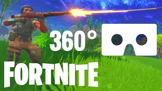 FORTNITE VR 360 vidéo Gameplay Google Cardboard Virtual Reality 360