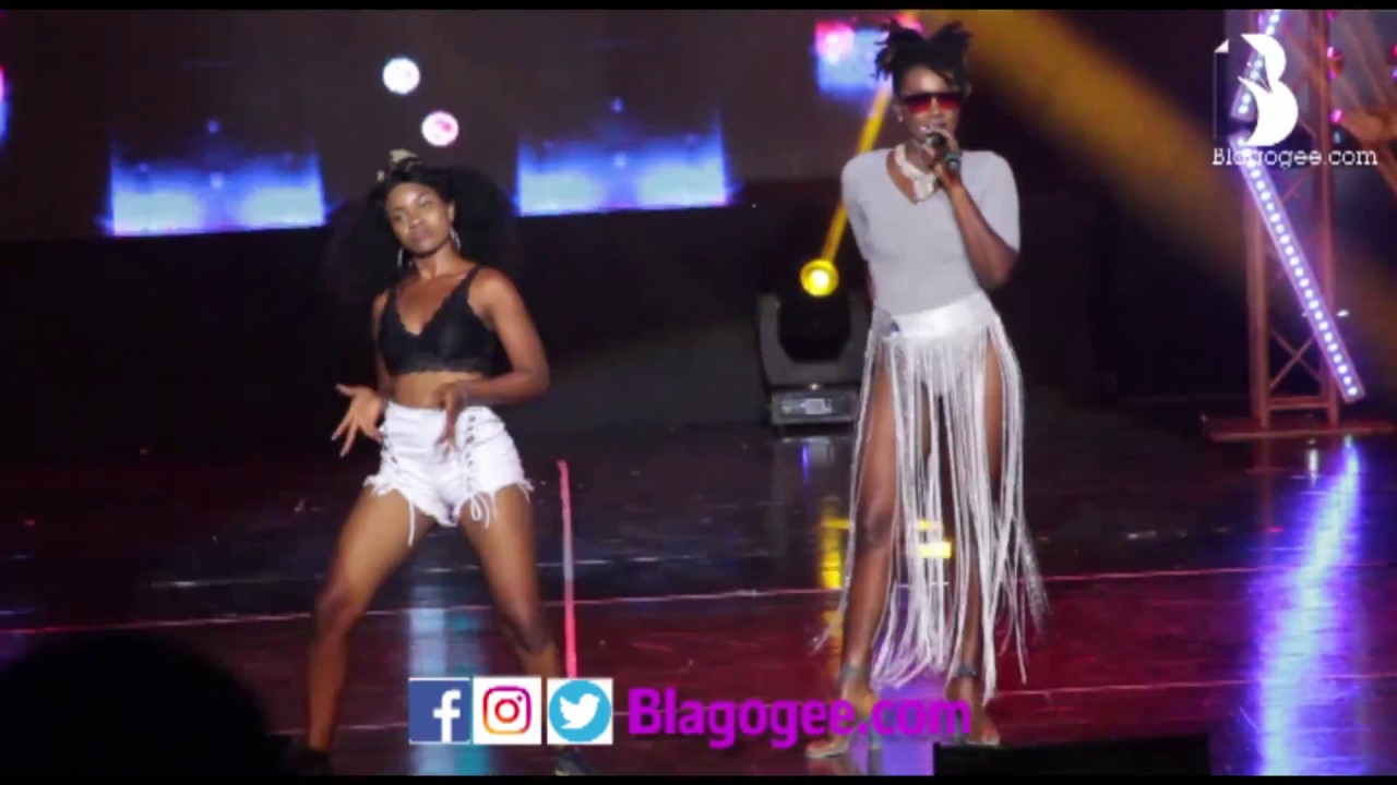 +18 Ebony Perform 'Hustle' At 2017 4syte Music Video Awards