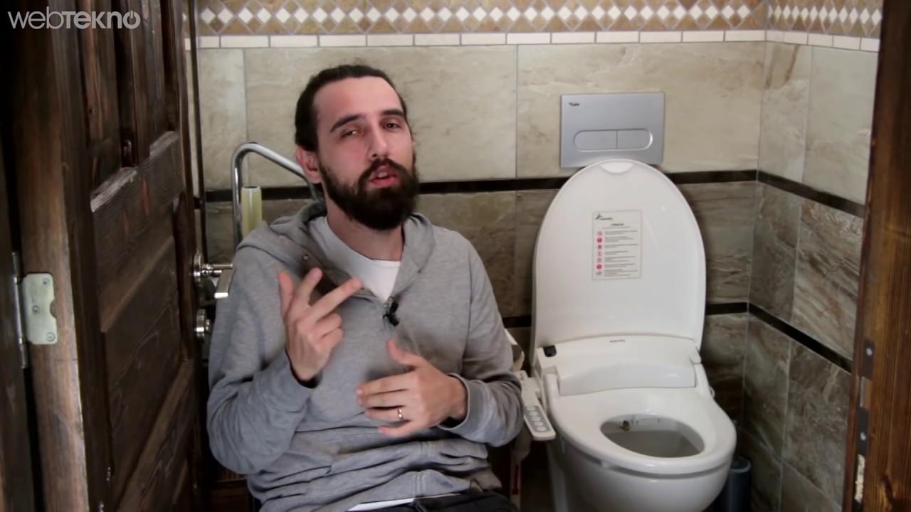 Akıllı Klozeti Ofisin Tuvaletinde Denedik! (Kumandalı Taharet Musluğu?)