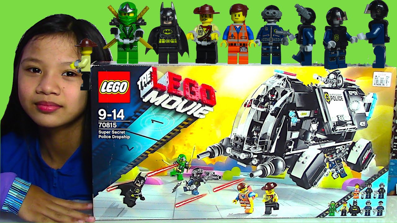 LEGO: The LEGO Movie Super Secret Police Dropship - Kids' Toys