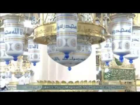 Masjid Nabawi(Prophet Mosque) Madina Wonderful Interior-1.