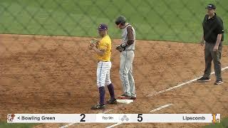 Baseball - Lipscomb vs Bowling Green - Game 3