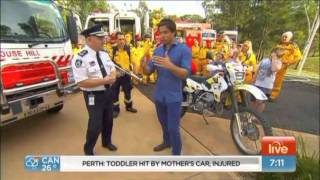 NSW RFS - Sunrise - Bush fire survival plan