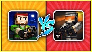 Pixel Gun 3D (12.1.1) vs. Pixel Strike 3D (4.1.0)