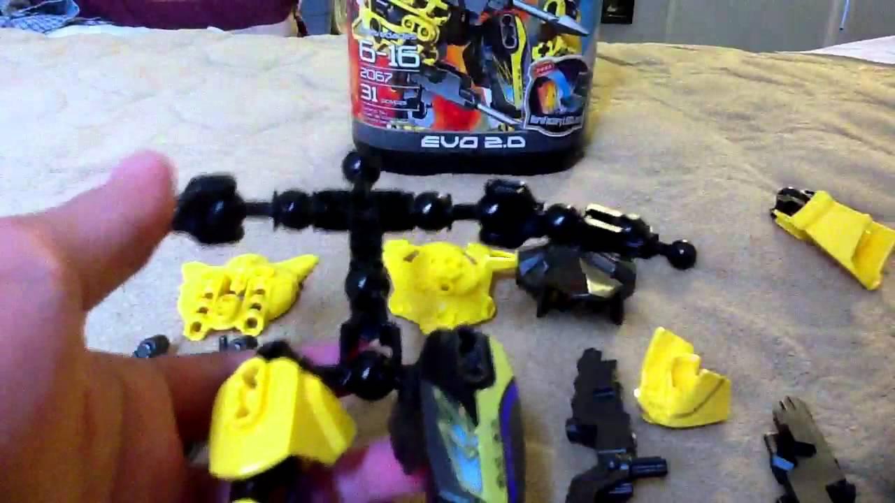 Lego Hero Factory Evo 20 Instruction
