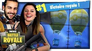 DOUBLE DROP = LANCE MISSILE GUIDÉ ! | FORTNITE DUO FR