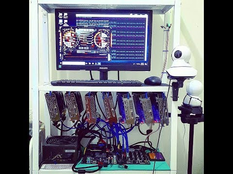 Ethereum Mining Rig - Hashrate With Nvidia GTX 1070, GTX 1060, GTX 1050Ti And Radeon RX 580