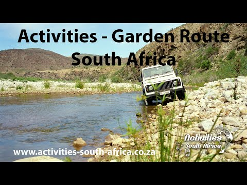 GARDEN ROUTE THINGS TO DO