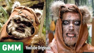 Ewok Makeup Transformation ft. Kandee Johnson
