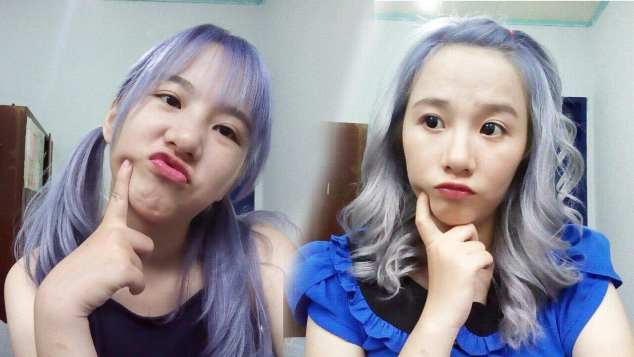 Tutorial Silver Platinum Lavender Hair Dgn Miranda Cara Mewarnai Rambut Silver Platinum Sendiri