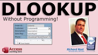 In this tutorial, I'll show you how to use the DLOOKUP function in ...