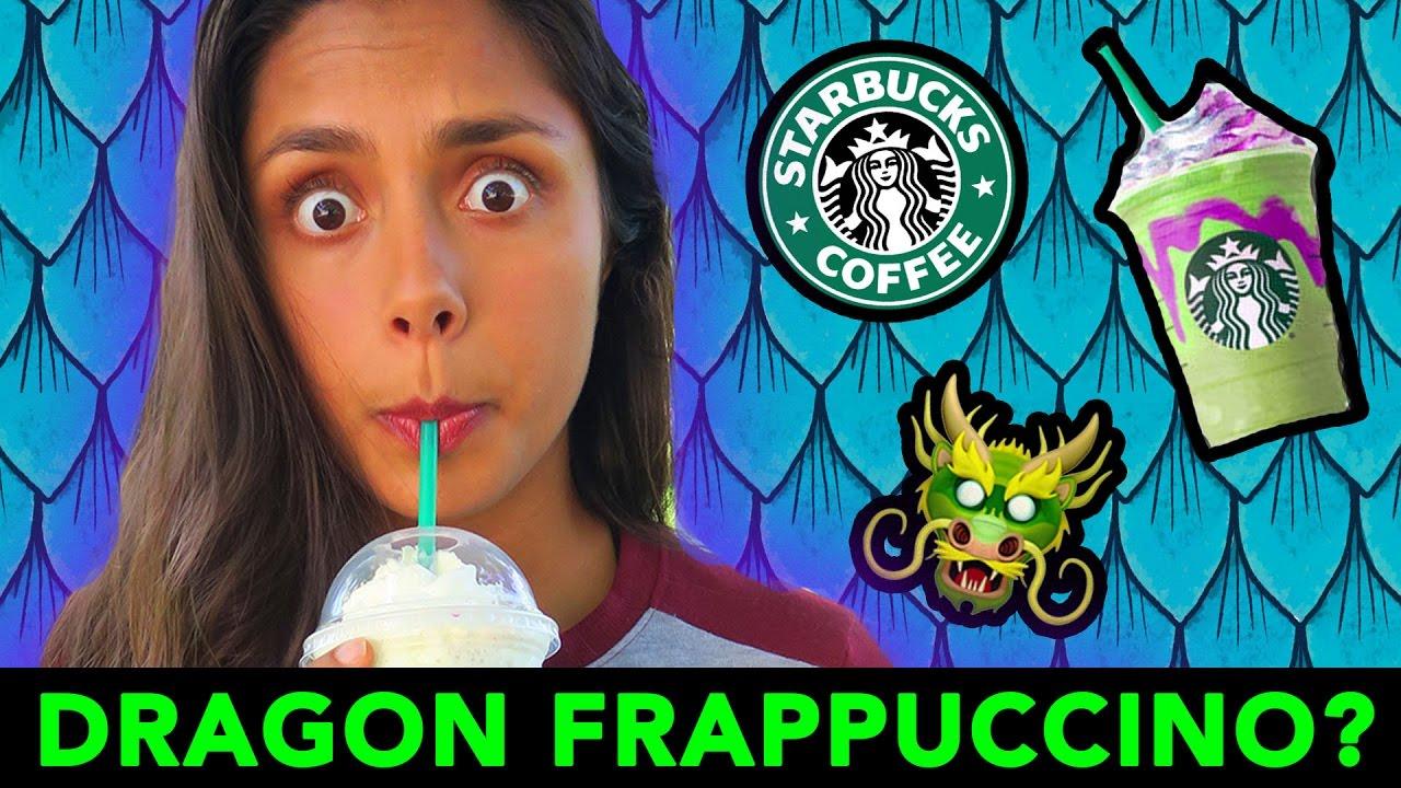 Trying The Dragon Frappuccino Starbucks Secret Menu
