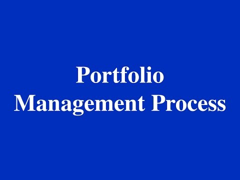 2015- CFA - Portfolio Management Process and IPS