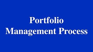 2015- CFA - Portfolio Management Process and IPS