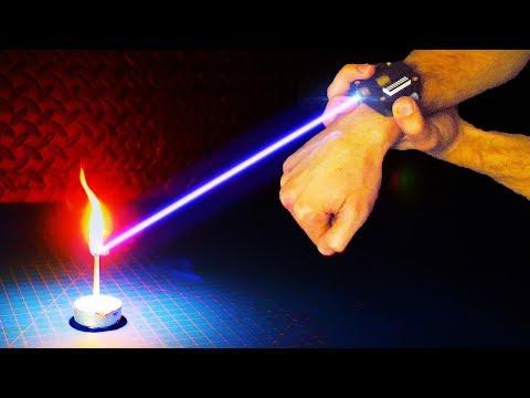 """DIY Burning Laser """"Watch"""" - Iron Man / 007 James Bond Inspired!"""