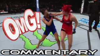 ufc halifax randa markos beats carla esparza via decision ufc fight night 105 commentary