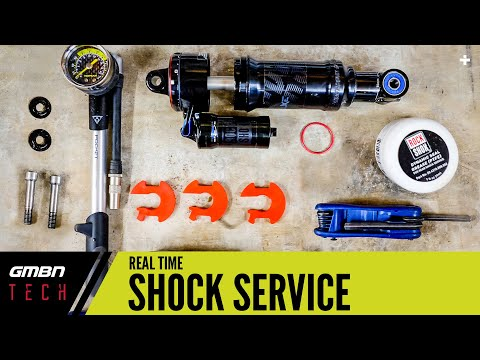 Servicing A Mountain Bike Air Shock In Real Time | Basic Suspension Service