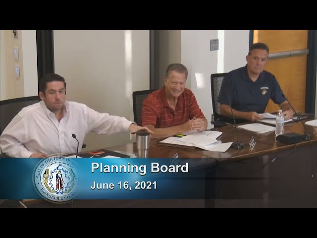 Planning Board 6-16-21