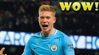 ⚽ Kevin De Bruyne - The Incredible Assist Manchester city Premier league