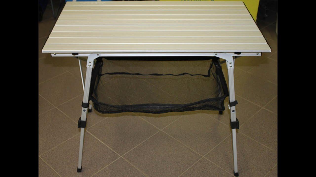 Продам стол складной алюминиевый для пикника - YouTube