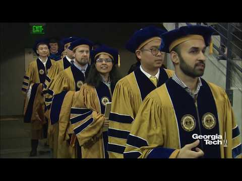Ph.D. Ceremony Fall 2017
