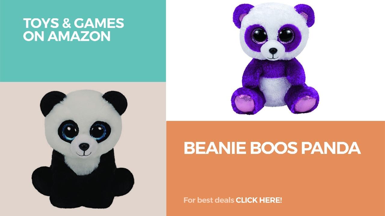 Beanie Boos Panda    Toys   Games On Amazon - YouTube f5b73e14ebb