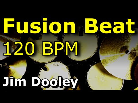 Drum Loops - Fusion Drum Beat 120 BPM - DooleyDrums.com