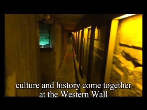 Old Jerusalem-The Western Wall Tunnels - jerusalimo.com