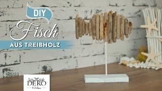 DIY: Deko-Fisch aus Treibholz selber machen [How to] | Deko Kitchen